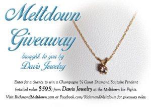 Meltdown giveaway